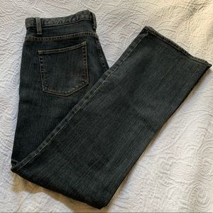 NWOT Gap Women's Jeans Lowrise Bootcut. Size 10.